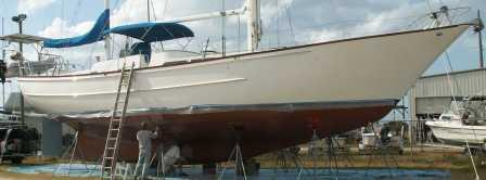 Performance 10 Year Anti-Fouling Coating System for Sailboats